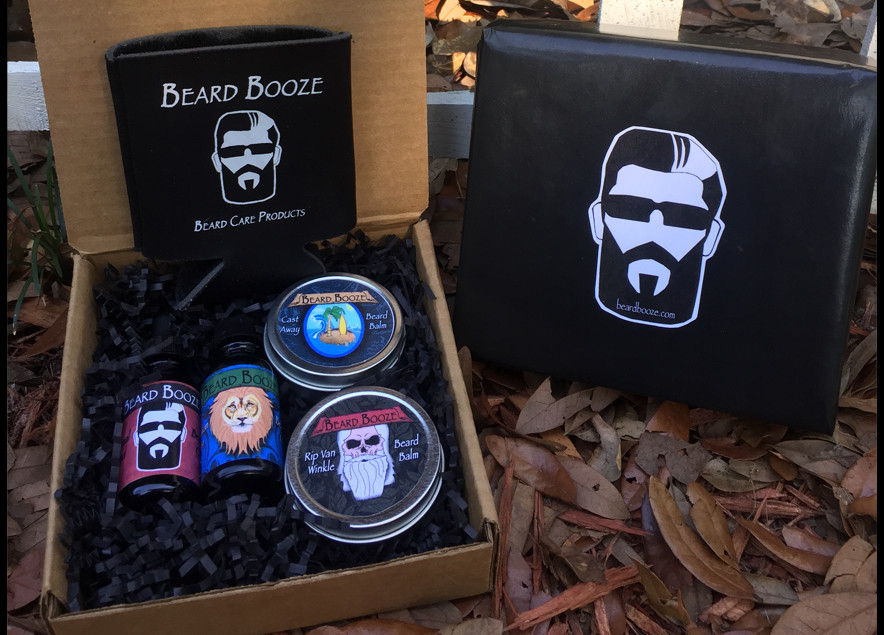 beard booze fathers day