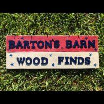 Barton's Barn Wood Finds