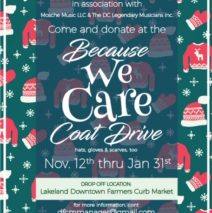 Coat Drive Every Saturday Until the End of January!