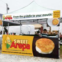 Sweet Corn Arepa